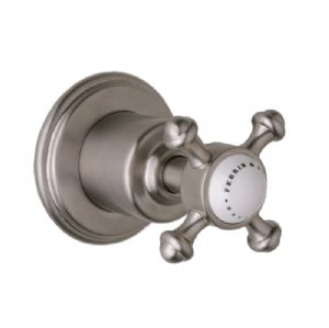 3775 Perrin & Rowe Georgian ¾ inch Concealed Wall Valve With Cross Handle